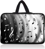 """Music Note 11.6"""" 12.1 12 Inch Laptop Sleeve Bag Carrying Case Cover +Hide Handle For Acer Chromebook Google Chrome OS 11.6"""",Alienware M11x 11.6"""",Macbook Air/Acer,HP Dell Acer Thinkpad,Acer Aspire S7/Acer C7 Chromebook,Lenovo Ideapad,Sony IBM ASUS,Dell Inspiron 11z 1110,12.1"""" Apple iBOOK PC,DELL Latitude E6230 XT2 XPS Duo,Samsung Google 11.6"""" Chromebook"""