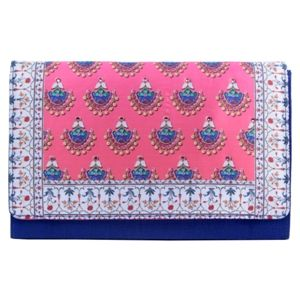 Bejeweled Earring Print #Clutch #Bags #Fashion #Accessories
