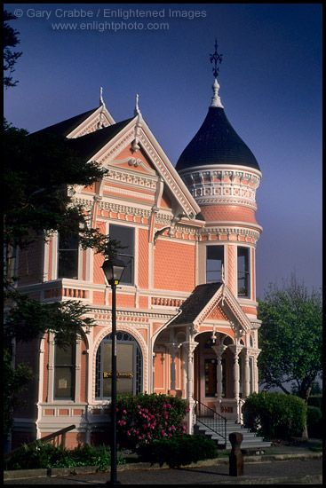 Gingerbread victorian house, Eureka, Humboldt County, CALIFORNIA