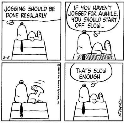 Peanuts - This strip was published on February 5th, 1980.