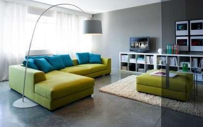 Come abbinare il divano alle pareti: i colori giusti per una casa chic - Ecco…