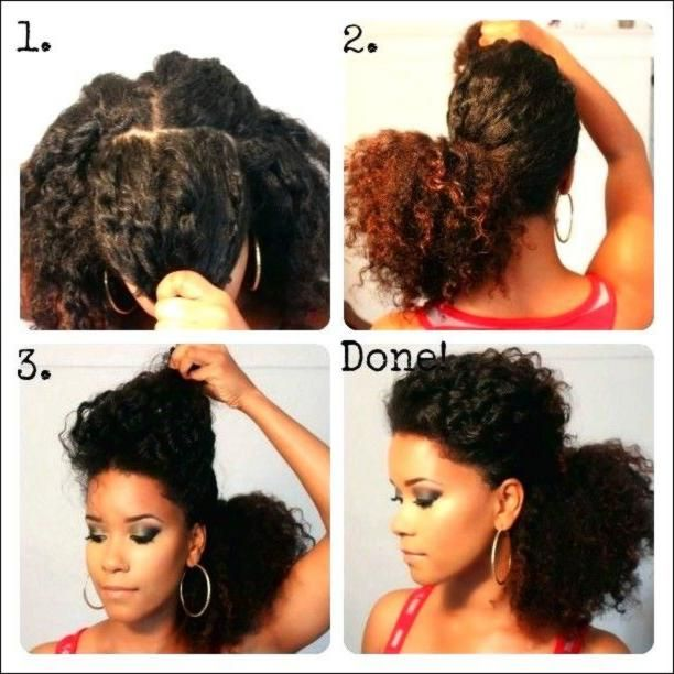 Perfect ponytails loxabeauty.com See how she did this. Use a comb to remove the middle and the back layer.