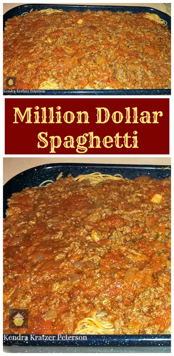 canadian shoe stores vancouver Million Dollar Spaghetti  Easy recipe and always a hit with the family