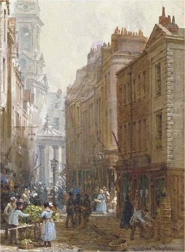 a segment of Drury Lane, London