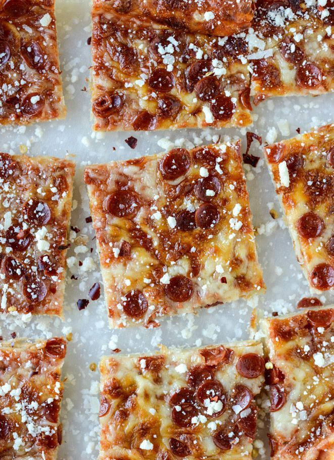 super easy pepperoni pizza puff pastry I http://howsweeteats.com