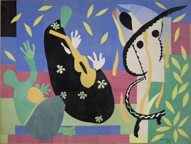 Matisse Tristesse du roi