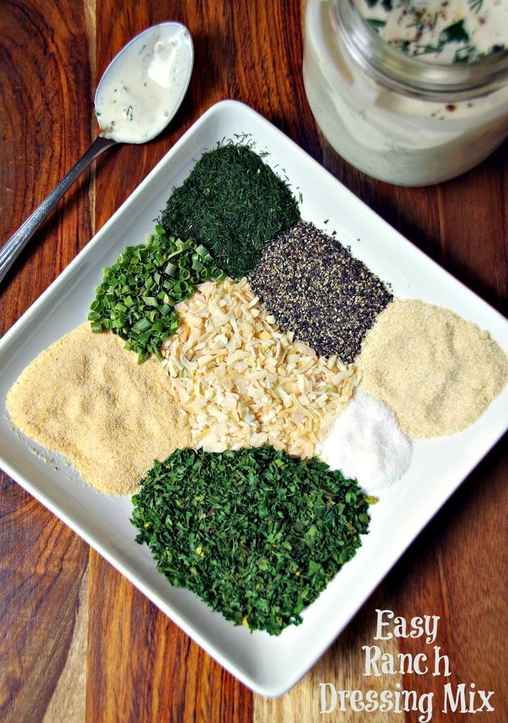 This homemade ranch dressing mix recipe will save you money and contains only natural ingredients from your pantry!