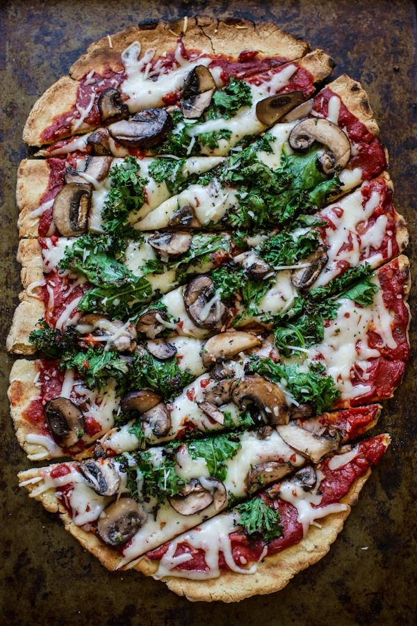 Easy healthy vegetarian pizza recipe