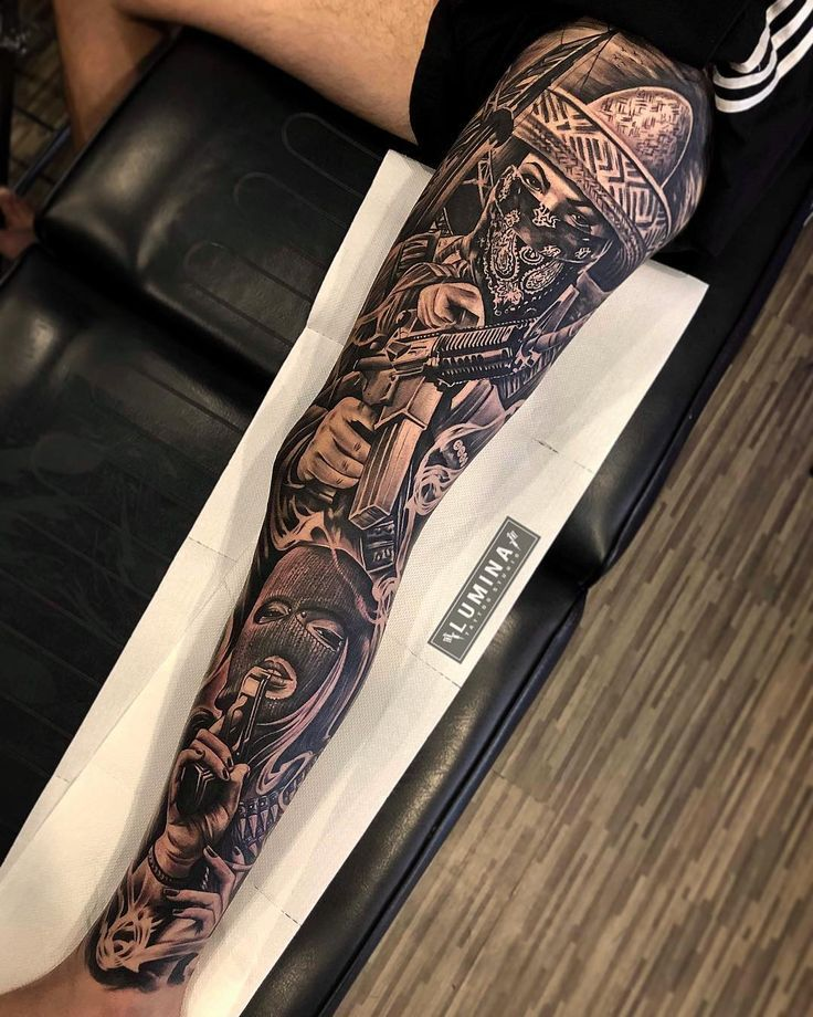 No Photo Description Available Check More At Https Tattooin Sirinhali Net Index Php 2019 0 Chicano Tattoos Sleeve Full Leg Tattoos Leg Tattoos