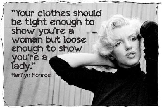 No way!!! Marilyn said this!!!! ???