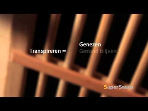 Voordelen van een infraroodcabine op een rij, bekijk de video op youtube.    meer info van www.SuperSauna.nl