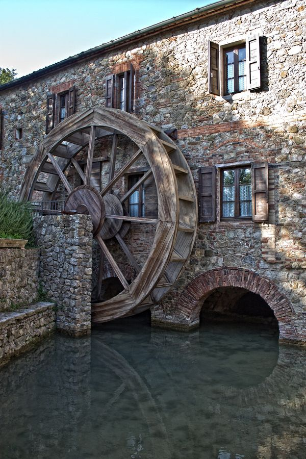 Photograph The White Mill I by Diego Luci on 500px      Tuscany, Siena, Chiusdino, Merse, Toscana