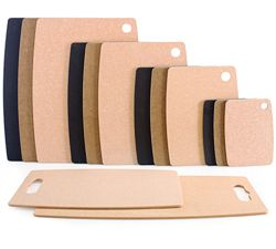 Come take a look at the line of Epicurean kitchen items we carry, like these cutting boards made with eco friendly materials, in all different sizes.