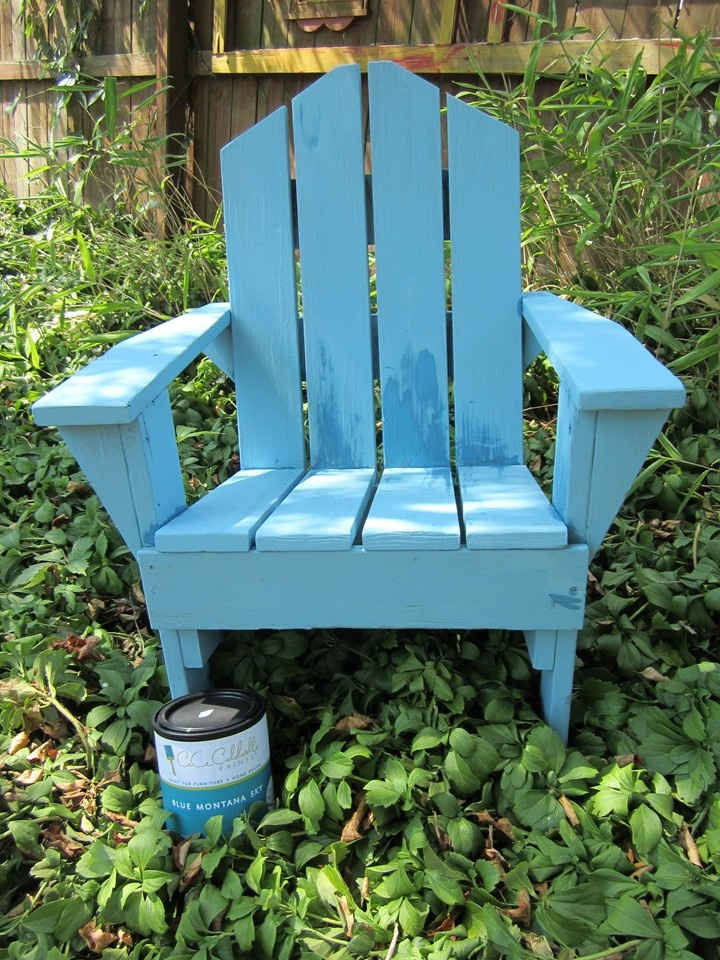 Pin By Alicia Williams On What Color To Paint The Adirondack Chairs In 2018 Painted Furniture Chair