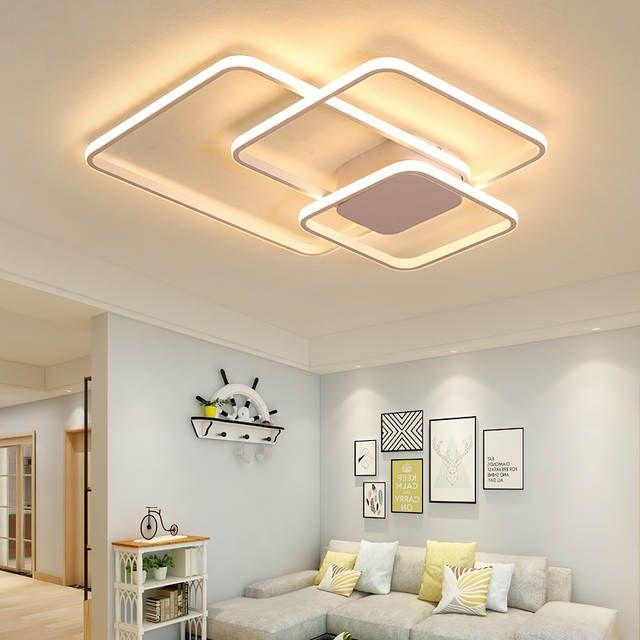 Luces De Techo Led Modernas Para Sala De Estar Dormitorio Sala