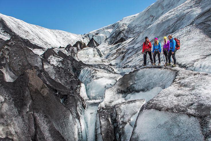 Brevandring med isklatring, Island - Reykjavik| Vulkanreiser.no