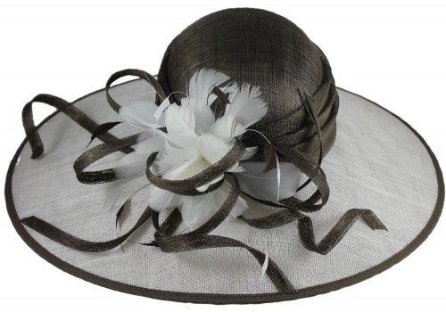 50% OFF - Hawkins Collection Down Brim Wedding / Events Hat