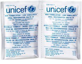 Unicef | Gåvoshop | Vätskeersättning