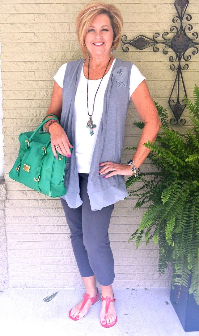 50 IS NOT OLD | GRAY ON GREY | Labor Day Plans | Summer Concert | Fashion over…