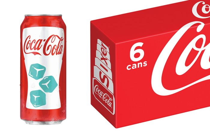 coca cola chill activated can/sixer pack 2013