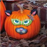 so easy & different!  Pumpkin Decor Cat