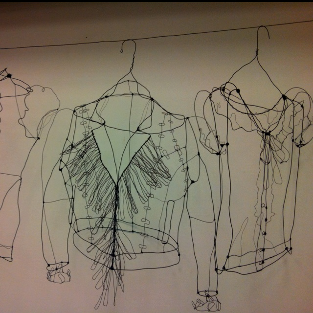 Awesome ART   Wire Garments ,