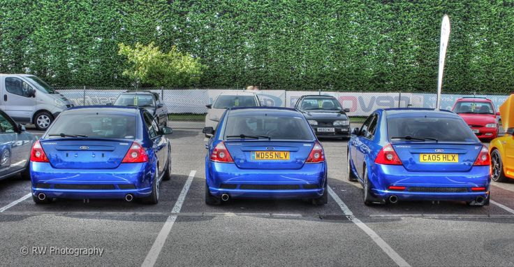 Blue Three Fords - Ford Mondeo mk3 ST220 #ST Imperia Blue