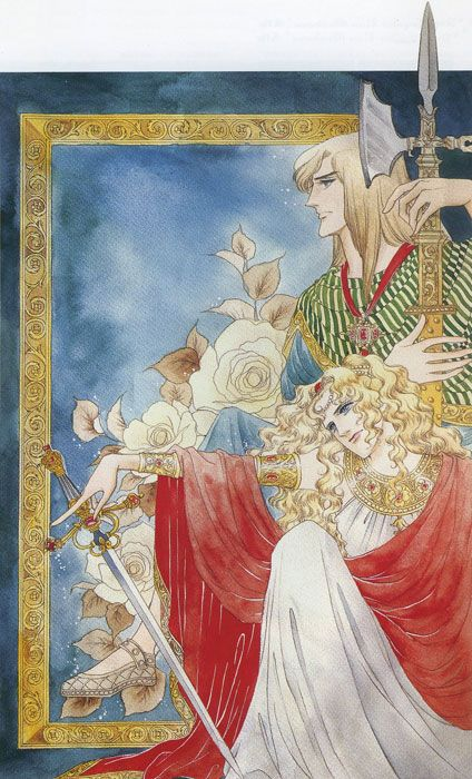 """Orpheus no mado"", original design by Riyoko Ikeda"