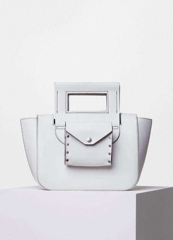 Square Medium Bag in Natural Calfskin - C¨¦line | C¨¦line ...