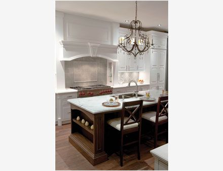 Traditional French Villa Square | Crystal Cabinets