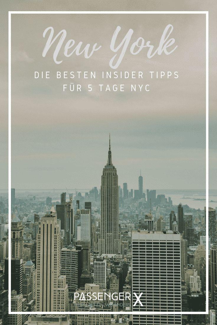 Meine Insider Tipps für 5 Tage New York City (Manhattan & Brooklyn)