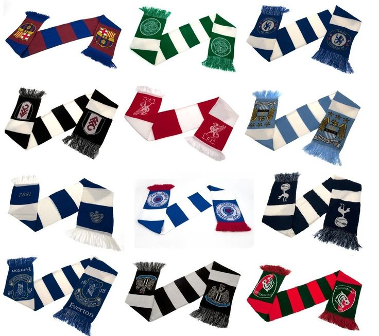 #Official #football club - scarves - bar & #crest scarf design - (19 teams),  View more on the LINK: http://www.zeppy.io/product/gb/2/141058696781/