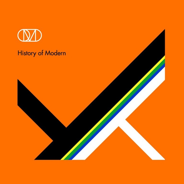 OMD History of Modern, album cover design by Peter Saville