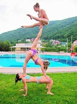 acro gymnastics, summer, love <3