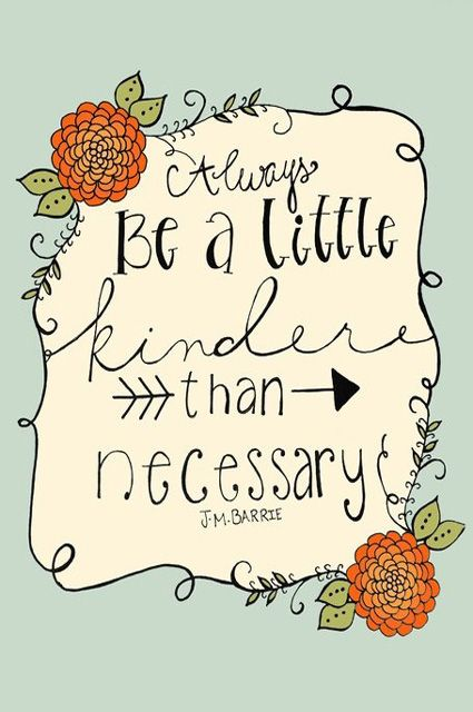 Kindness. . .pass it on. . .it can turn into a firestorm of contagious acts.