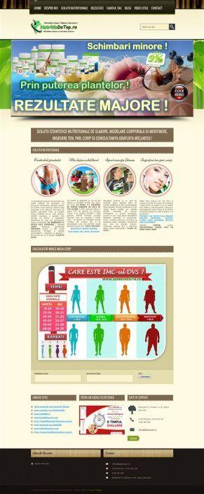 Prosperdesign Realizare Site Herbalife by ProsperDesignWeb.deviantart.com on @DeviantArt