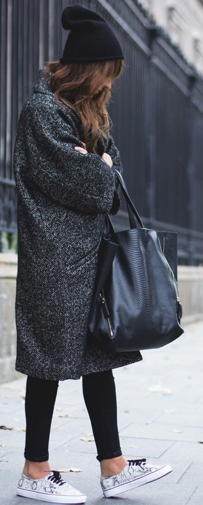 black #winter outfit