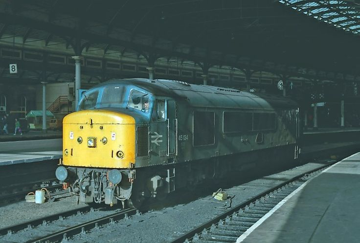 Railway Herald :: Imaging Centre :: 45134 at Newcastle Station