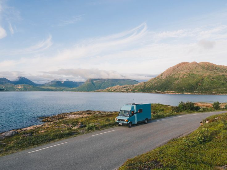 Vanlife in Norway. Hiking and wandering in our VAI-KØ Merino Wool Beanies. Check them out here!