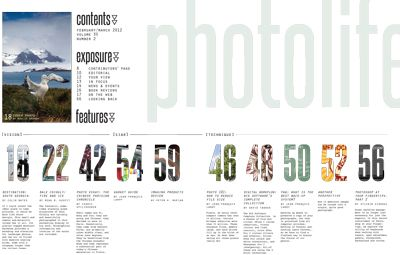 RF. Ashlin table of contents design - Google Search   Brand ...