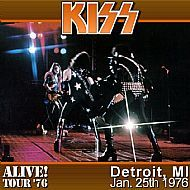 Kiss - Detroit Cobo Hall January 25th 1976 DVD