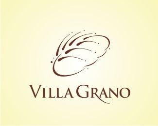 Villa Grano (2005) by sebastiany   -   Food Logo   -   logopond.com