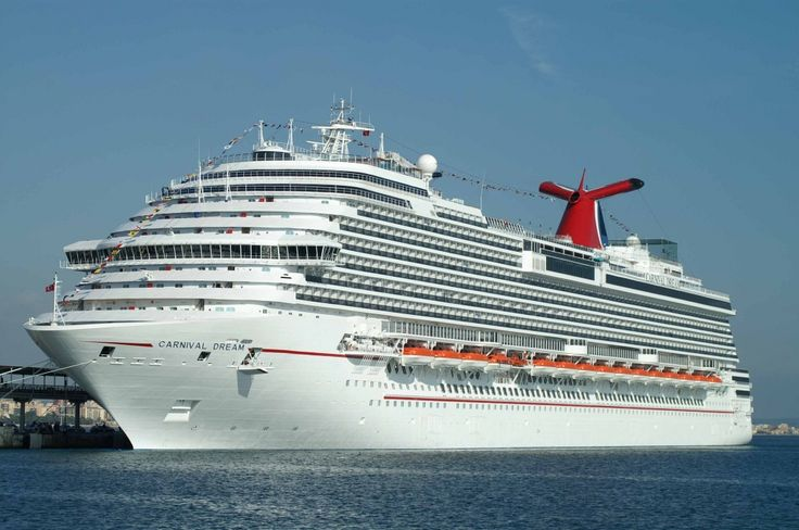 CARNIVAL DREAM CRUISE SHIP - Stats according to Ship Mate mobile app: Year Built: 2009 Passengers: 3,646 Crew: 1,367 Weight: 130k tons Length: 1,003 feet Speed: 26 mph Cost: 740 million