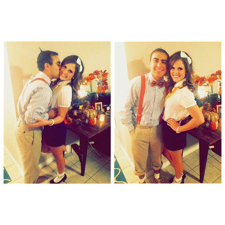 Darla and Alfalfa Couple Costume-Halloween 2014