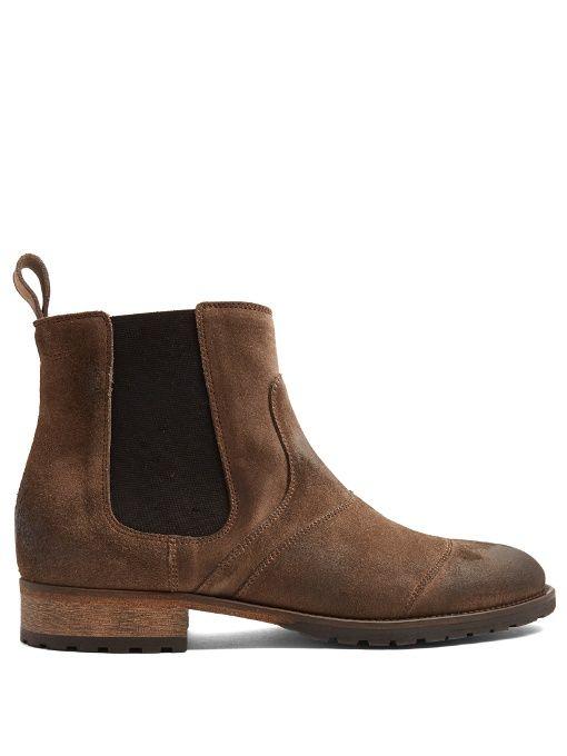 BELSTAFF Lancaster suede boots. #belstaff #shoes #boots