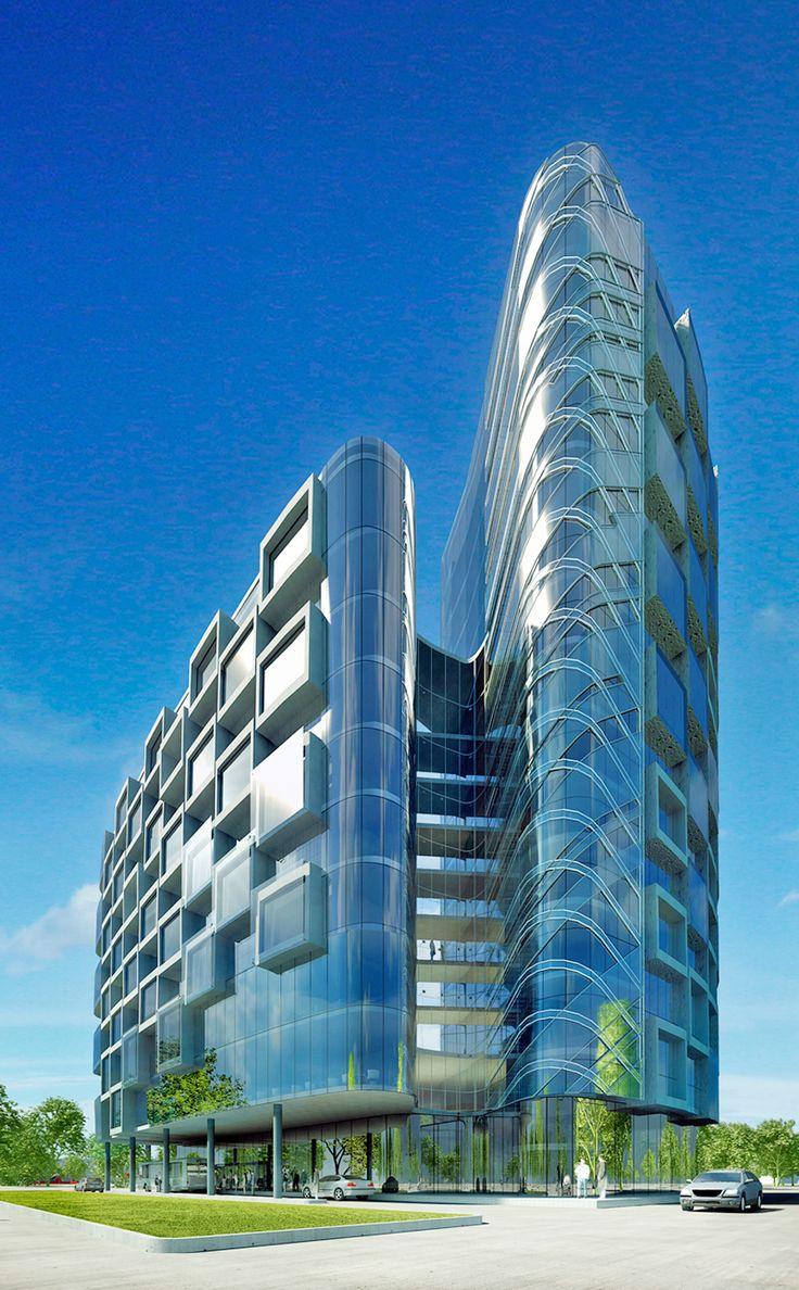 «Hilton» Hotel Complex in Surgut City