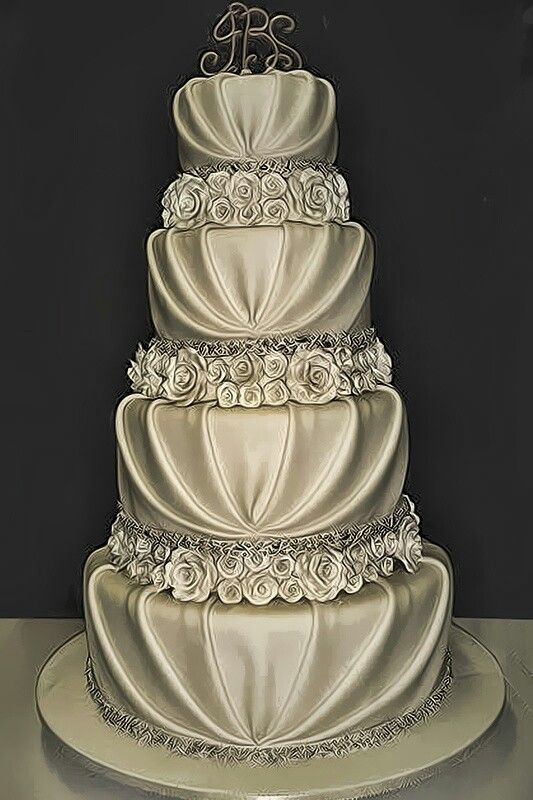 The Millionairess of Pennsylvania: Beautiful wedding cake
