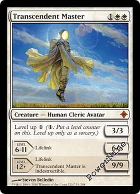 4 Transcendent Master Rise of the Eldrazi Mythic Rare