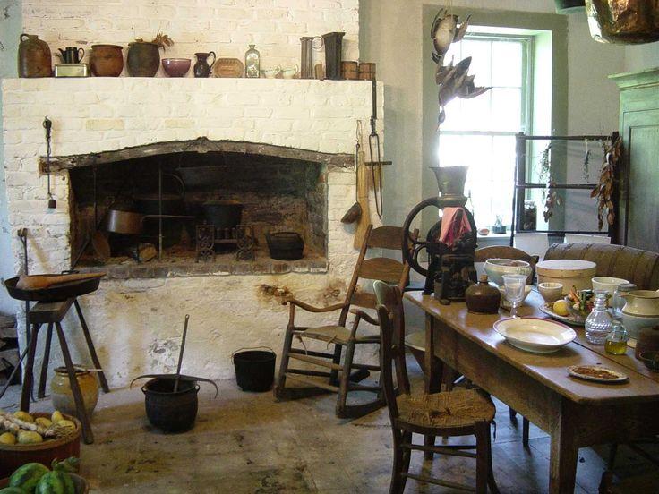 15 best 1800's kitchens images on pinterest | primitive kitchen
