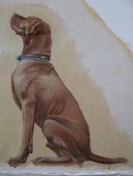 my painting of Max